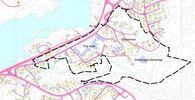 Situasjonskart for planområde Sindremoen