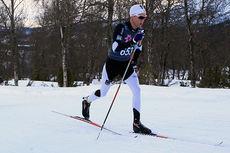 Didrik Tønseth på vei mot sølv på NM-femmila i Harstad 2015. Foto: Erik Borg.