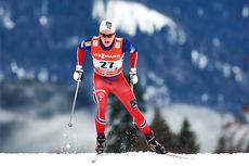 Simen Sveen underveis på prologen i Tour de Ski sesongen 2014/2015. Foto: Felgenhauer/NordicFocus.