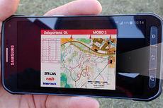 Orienteringsløype på smarttelefonen ved hjelp av Mobile Orienteering og MOBO-appen.