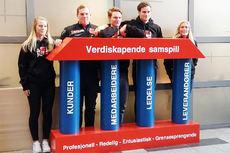 Fra presentasjonen av Team Veidekke Oslofjord 2015/2016. Foto: Team Veidekke Oslofjord/Norges Skiforbund.