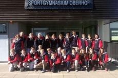 Team Skiguard Buskerud samlet i tyske Oberhof. Foto: Team Skiguard.
