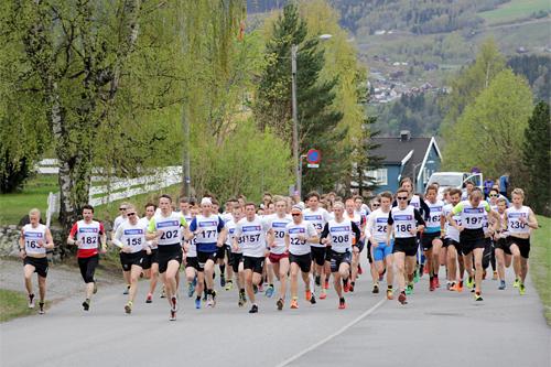 Kanten-testen er konkurranse nummer to i Vårcup Lillehammer. Her fra en tidligere utgave. Foto: Michael Eriksson.