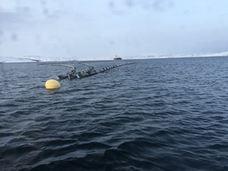 Oljeomlastning  - lenser på sjø_300x225