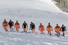 Team LeasePlan Go på samling i Ramsau 2014. Foto: Geir Olsen/Team LeasePlan Go.