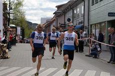 De 3 beste guttene i Gågatesprinten 2015. Arrangørfoto.