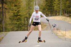 Mari Nordlunde på vei mot totalseier i Vårcup Lillehammer 2015. Foto: Anders B. Hennum.