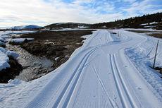 Bilde tatt på Golsfjellet 27. mai. Foto: Storefjell / Golsfjellet.