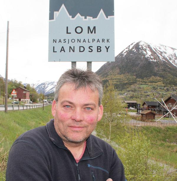 Ordføraren i Lom, Bjarne Eiolf Holø