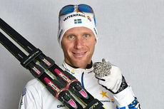 Daniel Richardsson med stafettsølvet fra VM i Falun 2015. Foto: NordicFocus.