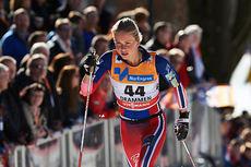 Silje Theodorsen i aksjon under verdenscupsprinten i Drammen 2015. Foto: Felgenhauer/NordicFocus.