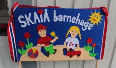Skaiå barnehage fane til 17. mai