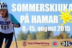 Sommerskiuka på Hamar.