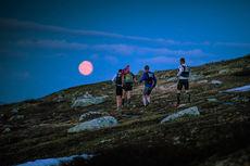 Nydelige forhold for ultraløpet Salomon Xreid Hardangervidda 2015. Foto: Kyle Meyr.