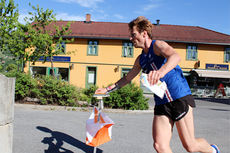 Øystein Kvaal Østerbø under et VM-uttaksløp i Vikersund 2015. Foto: Hans L. Werp.