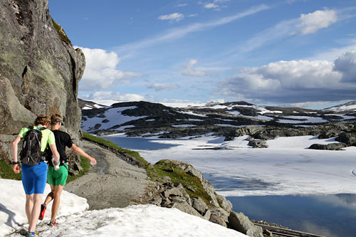 Illustrasjonsbilde fra Rallarvegsløpet 2014. Foto: Espen Ringom/Kondis.