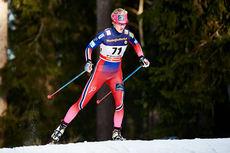 Kathrine Harsem ute i løypene under verdenscupen i Östersund. Foto: Felgenhauer/NordicFocus.