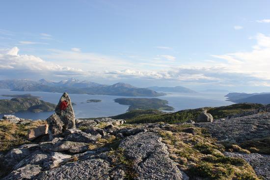 Utsikt fra Olderbakkfjellet