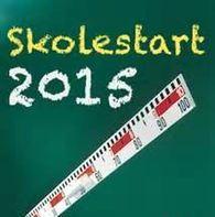 Skolestart 2015