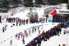 Fra verdenscupen på Lillehammer forrige sesong. Foto: Felgenhauer/NordicFocus.