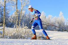 Ine Løvlien på 10 kilometer fristil under Beitosprinten 2014. Foto: Erik Borg.