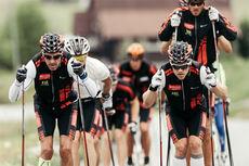 Team Santander ute på trening. Foto: Magnus Östh.
