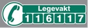 Logo for nasjonalt legevaktnummer 116117
