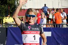 Therese Johaug i Toppidrettsveka. Foto: Geir Nilsen/Langrenn.com.