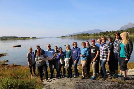 Valnesfjord skole og flerbrukshall befaring