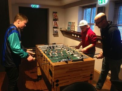 Fotballspilling i ungdomsklubben