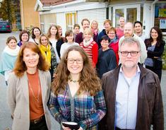 Marianne Grimstad Hansen, Siri Gauthun Kielland og Esben Nielsen innfører tiltak for mer effektiv byggesaksbehandling.