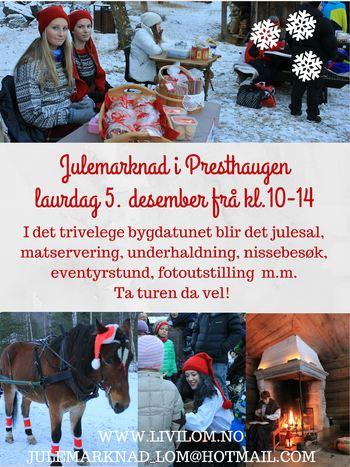 Julemarknad i Presthaugen 5