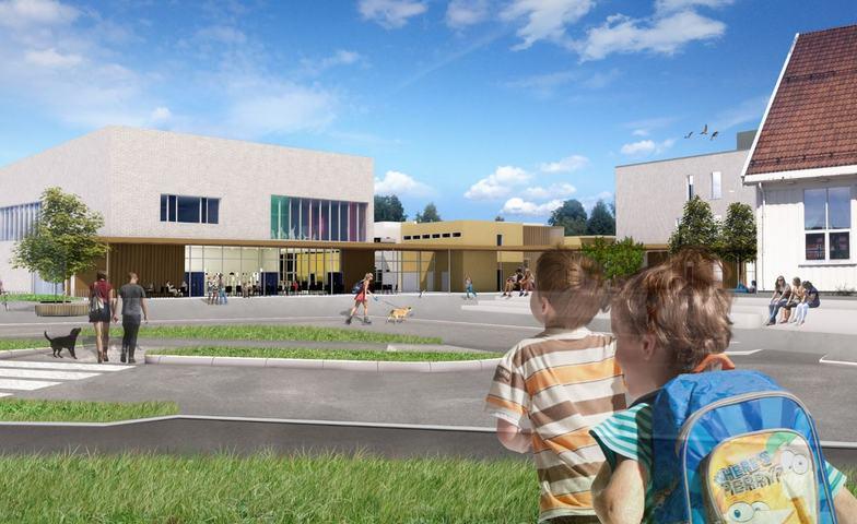 Frogner skole og kultursenter illustrasjonsfoto