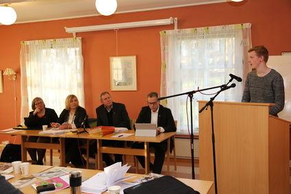 ungdomsrådet i  kommunestyret