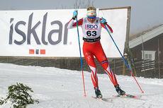 Kathrine Harsem ute på 15 kilometer klassisk i Beitosprinten. Foto: Erik Borg.