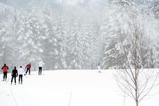 10 kilometer langrennsløyper på Trysil i midten av november. Foto: Destinasjon Trysil.