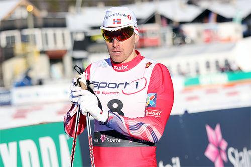 Ola Vigen Hattestad i den klassiske sprinten under nasjonal sesongåpning på Beitostølen en tidligere vinter. Foto: Geir Nilsen/Langrenn.com.