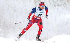 Håvard Solås Taugbøl på vei mot 13. plass under verdenscupens sprint i Rybinsk 2015. Foto: Laiho/NordicFocus.