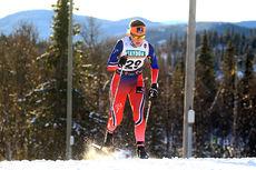 Tiril Udnes Weng i sprintprologen på Beitostølen. Hun leverte 30. beste prologtid og ble til slutt nummer 24 i rennet. Foto: Erik Borg.