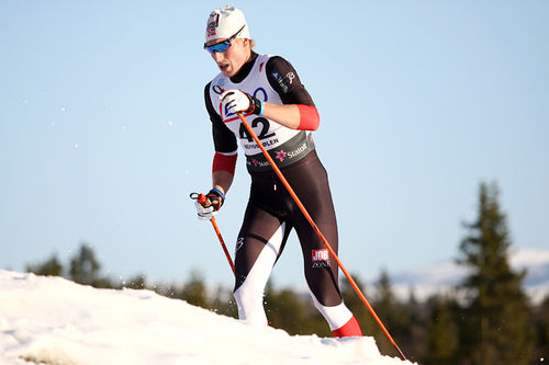 Andreas Myran Steen. Foto: Geir Nilsen/Langrenn.com.