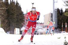 Erlend Bjøntegaard under verdenscupen i Khanty-Mansiysk 2015. Foto: Manzoni/NordicFocus.