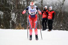 Anne Kjersti Kalvå under sesongåpningen på Beitostølen. Foto: Erik Borg.