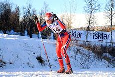 Johan Hoel i Beitosprinten. Foto: Erik Borg.