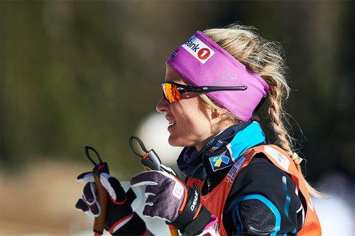 Therese Johaug ute på trening under Tour de Ski 2016 i Lenzerheide. Foto: Felgenhauer/NordicFocus.