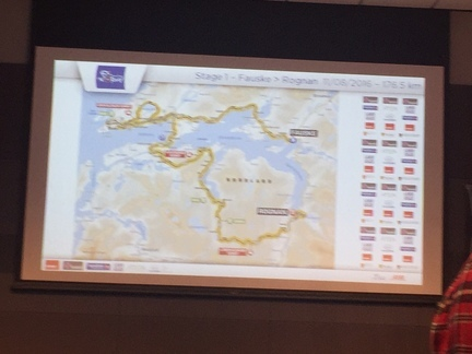 arctic race Fauske pressekonferanse