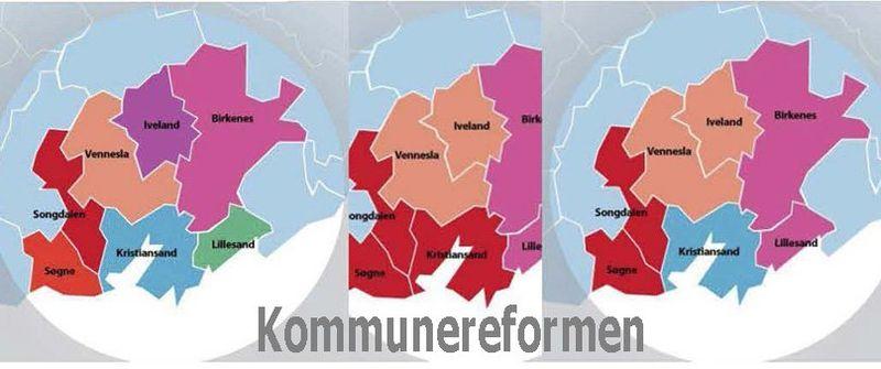 Kommunereformen - tekst