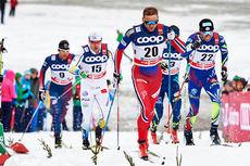 Niklas Dyrhaug underveis i Tour de Ski 2016. Foto: Felgenhauer/NordicFocus.