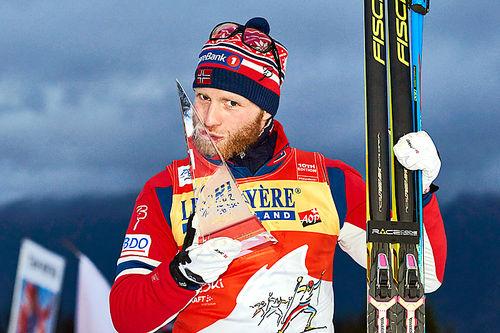 Martin Johnsrud Sundby var suveren vinner av Tour de Ski 2016. Foto: Felgenhauer/NordicFocus.