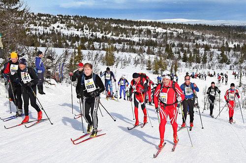Lange renn og harde økter krever at musklene har fulle karbohydratlagre. Foto: Geir Olsen/Birken.