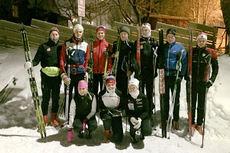 Kick off-trening ved Sognsvann for BI Oslo sine skiløpere. Foto: BI Oslo.